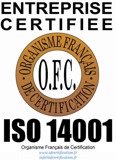 Logo iso 14001 qualité