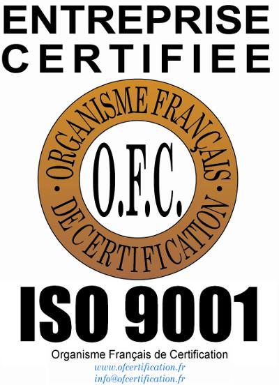 logo iso 9001 qualité